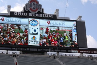 """The Ohio State Four Miler """"Finish on the 50"""""""