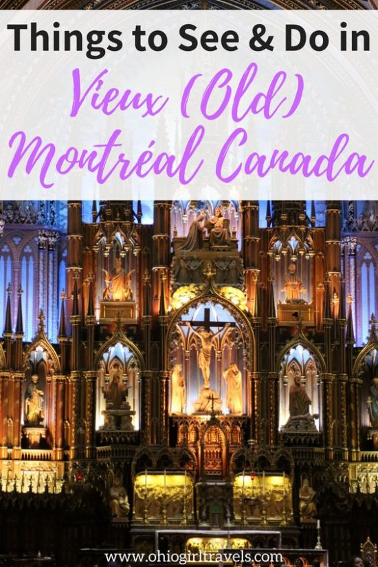 Montréal is a beautiful Canadian city, sure to impress. Check out this Montréal guide before your trip. It includes transportation in Montréal, places to stay in Montréal, food and drinks to try in Montréal, and things to see specifically in Vieux (Old) Montréal. It will certainly help plan your trip so you can make the most of your trip to Montréal. Don't forget to save this guide to Montréal to your travel board! #montreal #canada #montrealcanada