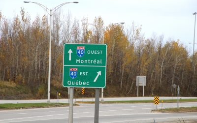 Road Trip from Montréal to Québec City