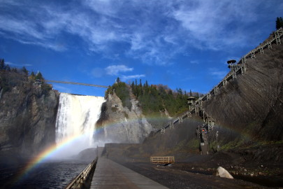 Montmorency Falls - OhioGirl Travels