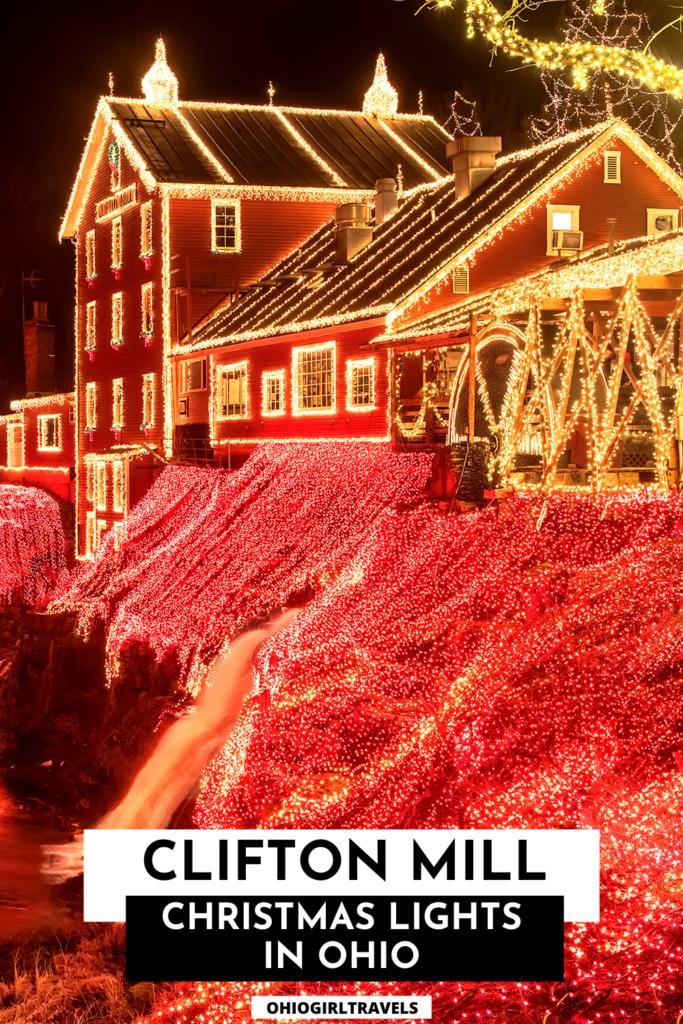 Clifton Mill Ohio Christmas