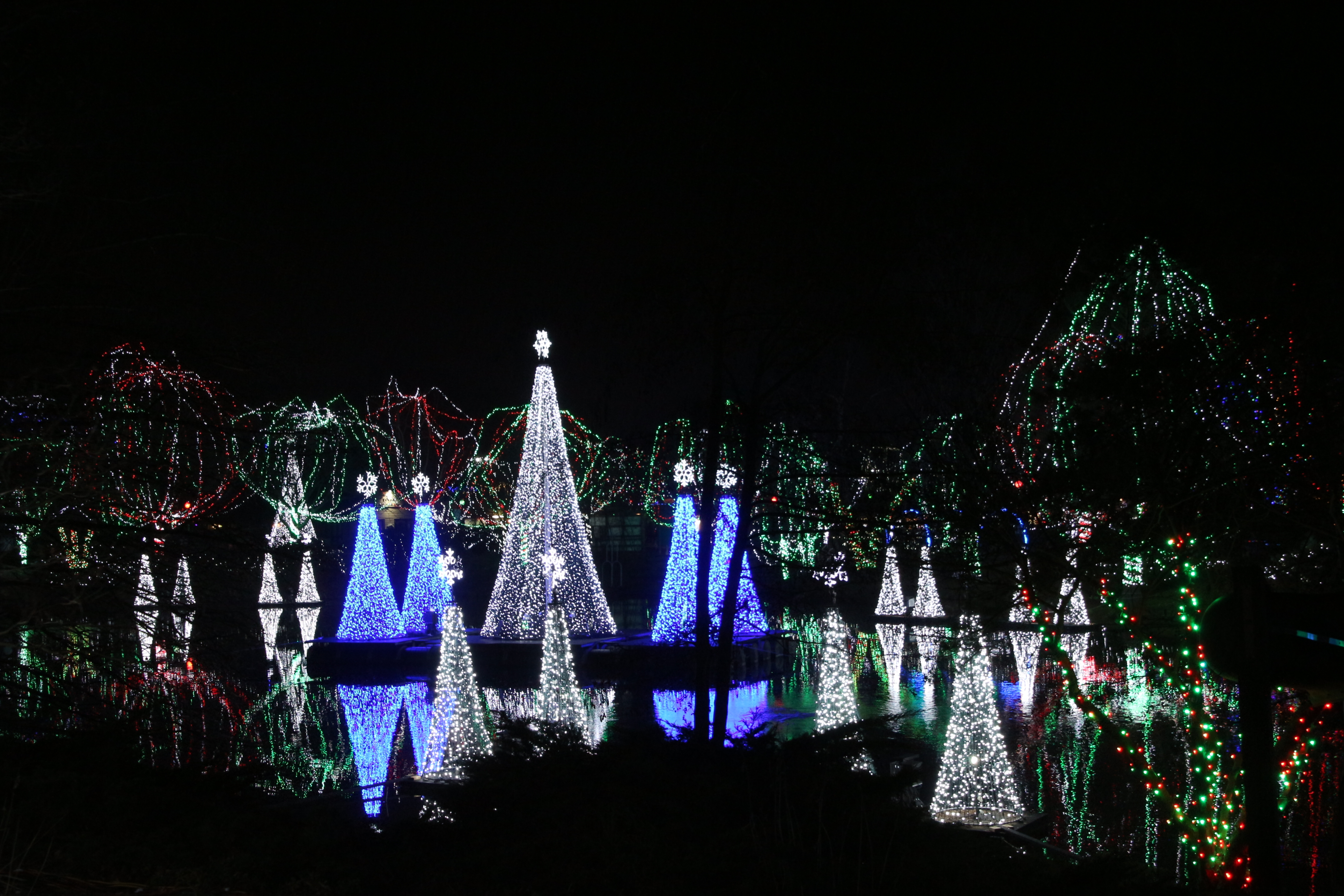 ... Visit Www Columbuszoo Org To Learn More About Columbus Zoo And Aquarium  S Wildlights Display ...