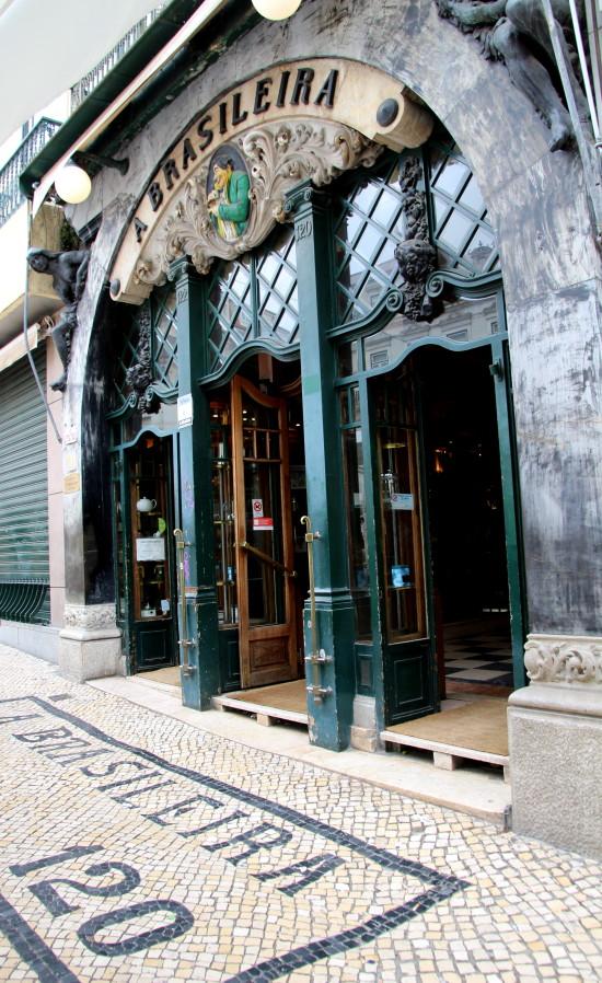 A Brasileira Lisbon, Portugal ~ www.ohiogirltravels.com