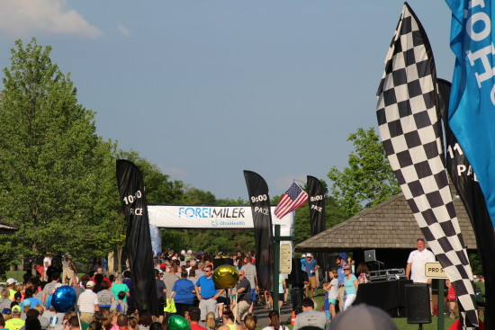 Fore! Miler race presented by M3S Sports ~ www.ohiogirltravels.com