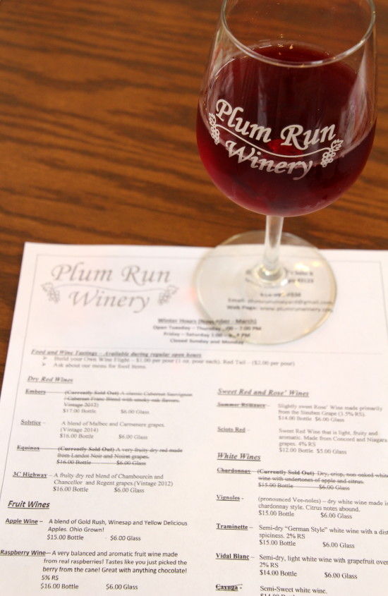 Plum Run Winery ~ www.ohiogirltravels.com