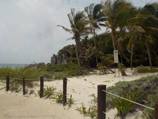 Mayan ruins of Tulum, Mexico ~ www.ohiogirltravels.com