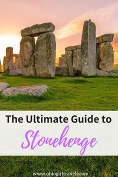 Stonehenge is an iconic landmark and on most traveler's bucket lists. If you haven't made it there yet, then this post is for you. Find out what to expect when visiting Stonehenge, how to get to Stonehenge, and the history behind Stonehenge by clicking here. Don't forget to save these tips for Stonehenge to your travel board when you're done reading! #stonehenge #england