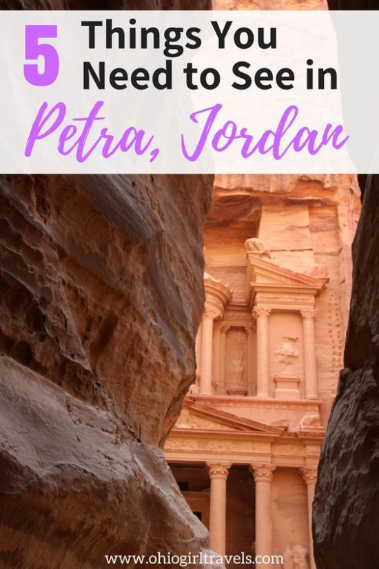 Are you planning to explore Petra, Jordan soon? This post has 5 tips for visiting the ancient Middle Eastern city of Petra so you can make the most of your trip. We will tell you 5 things to see in Petra and how to make the most of your trip to Petra. Don't forget to pin this for later. Travel guide for Petra | Petra, Jordan | tips for visiting Petra | #Petra #jordan #petrajordan
