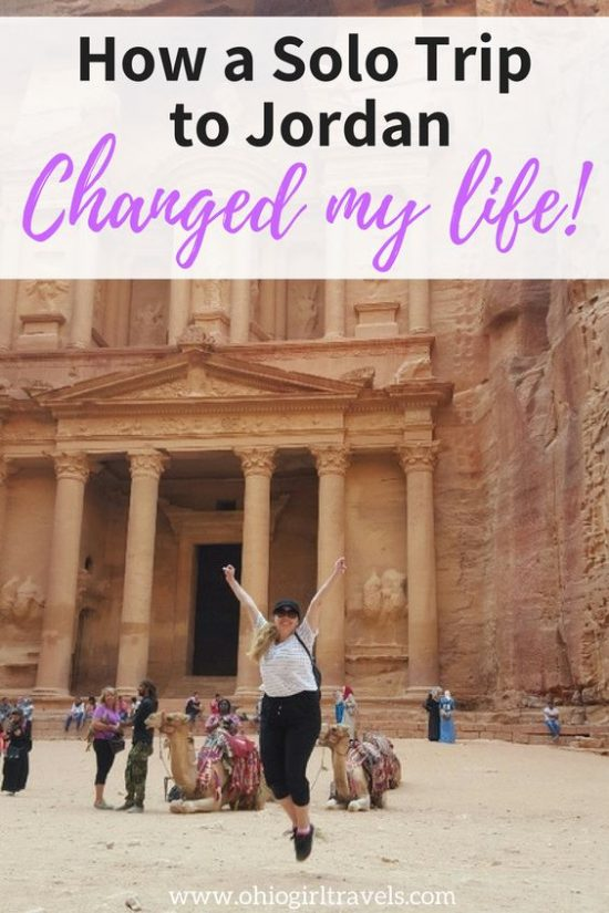 Solo travel can change you in ways you didn't even know were possible. Find out how I overcame the doubt of my decision to travel solo and why my solo trip was the best decision I ever made. You'll want to save this for inspiration to plan your first solo trip to the middle east. #solotravel #jordan #middleeast