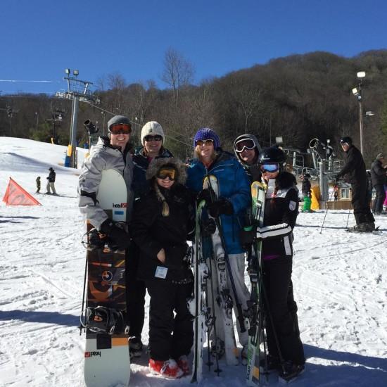 Skiing in North Carolina ~ www.ohiogirltravels.com