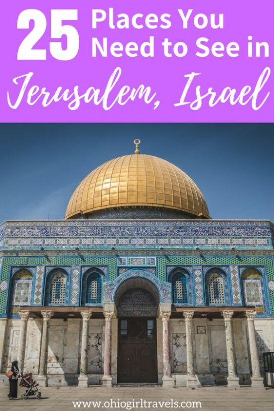 Before visiting Jerusalem, Israel you'll want to check out this extensive guide. This Jerusalem guide includes things to see in Juerusalem divided into regions of the city, what makes each region in Jerusalem unique, and how to make the most of your time in Jerusalem. Don't forget to save these tips for Jerusalem to your travel board when you're done reading! #jerusalem #israel #jerusalemisrael