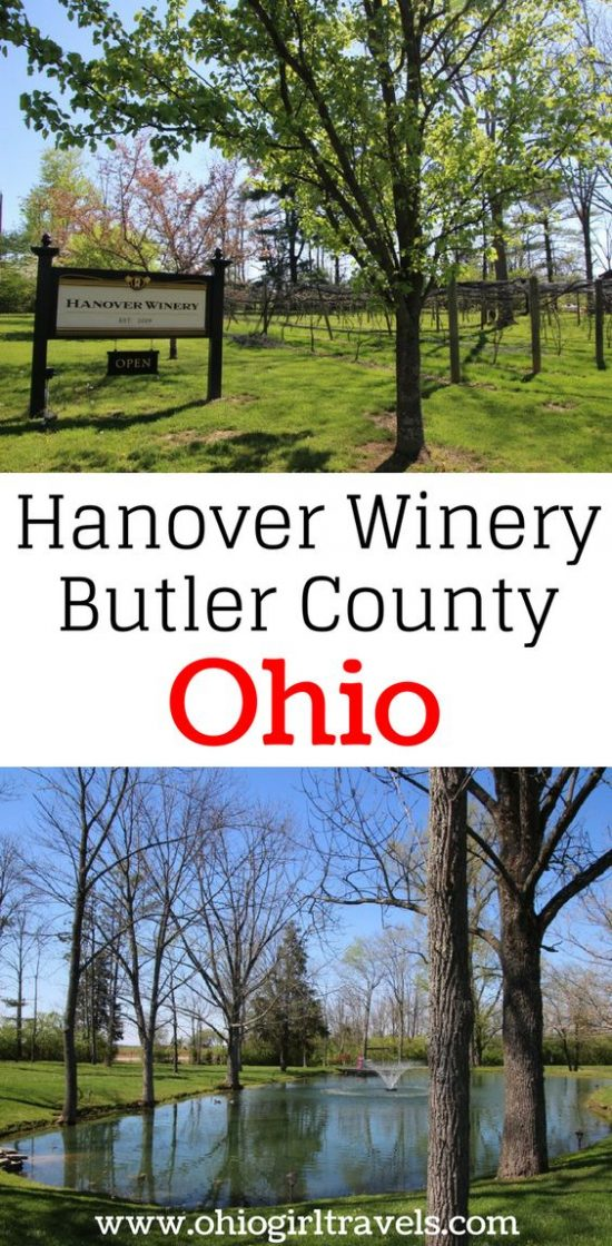 Hanover Winery in Butler County Ohio