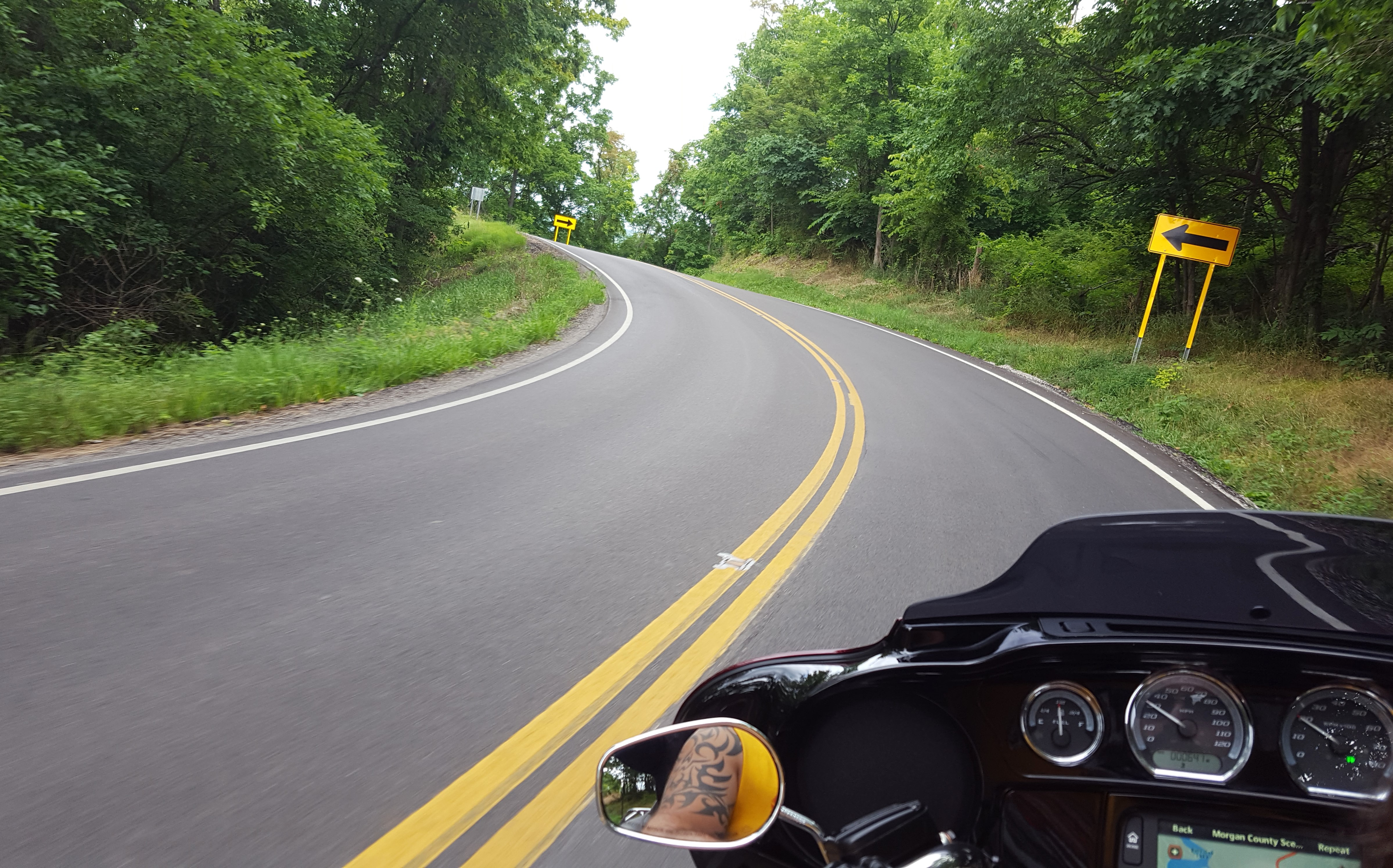 Motorcycle Rides In Ohio