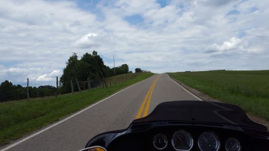 Windy 9 Motorcycle Route in Ohio