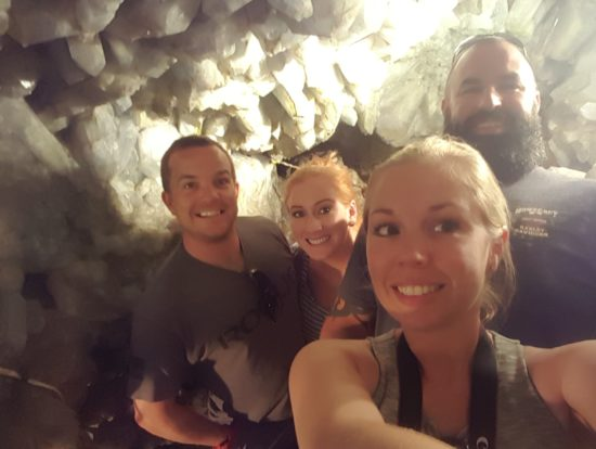 Crystal Cave at Heineman Winery