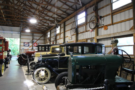 Antique Car Museum at Perry's Cave