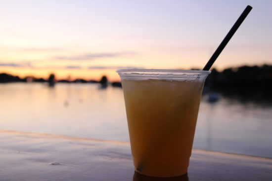 Sunset cocktails in Put-in-Bay Bars