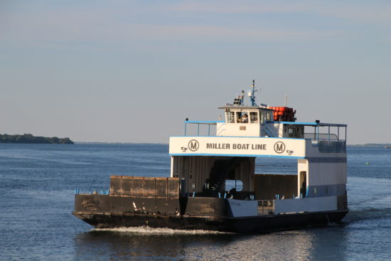 Miller Ferry at South Bass Island