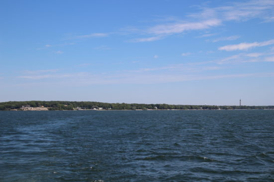 View from the Put-in-Bay ferry