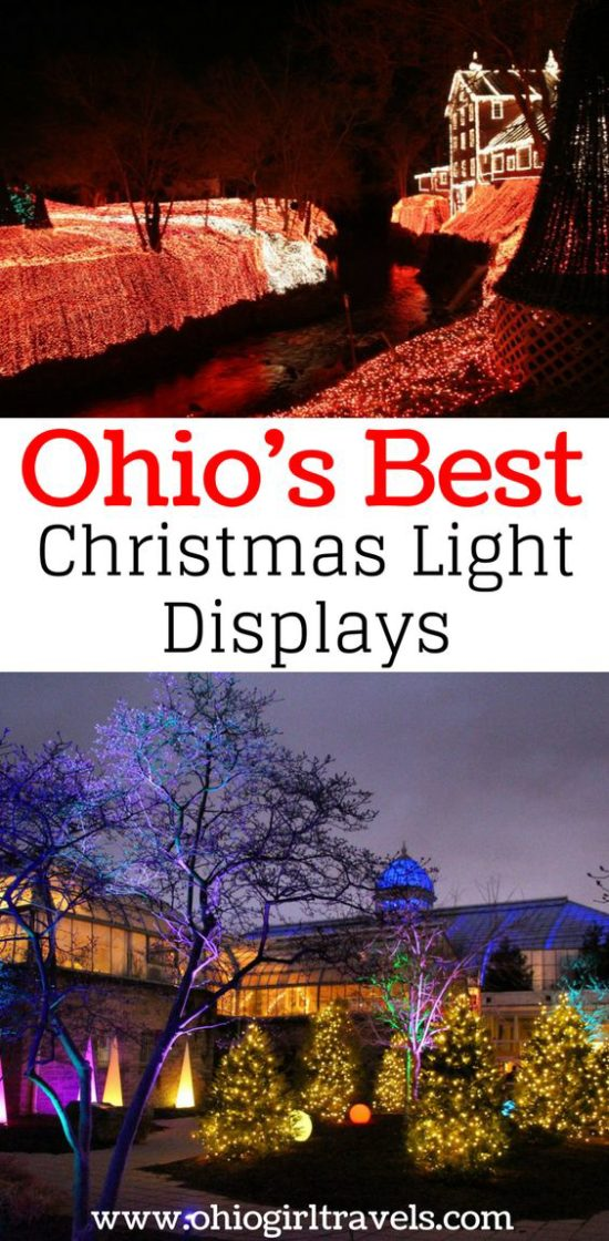 Ohio's Best Christmas Light Displays
