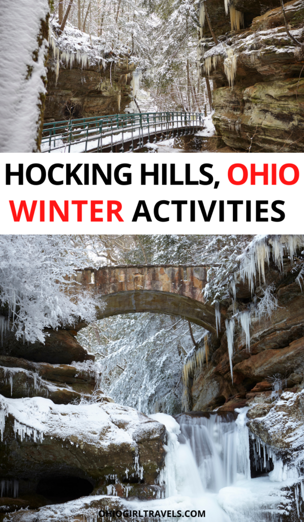 Hocking Hills Winter Activities