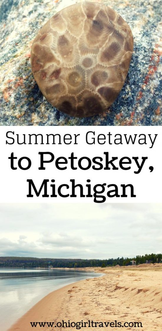 Summer Getaway To Petoskey, Michigan