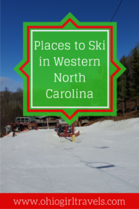 I've never thought of North Carolina as a ski destination, but man was I impressed! We enjoyed amazing skiing and breathtaking mountain views of the Blue Ridge and Smoky Mountains. You'll want to add these unique places to ski in the US to your list. Don't forget to save this to your travel board.