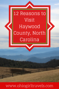 If you're looking for a romantic getaway near Asheville, North Carolina, Haywood County is perfect. It's settled in the Smoky Mountains and has so many outdoor activities to take advantage of. There are many more than 12 reasons to Visit Haywood County, North Carolina but we think you'll be convinced pretty quickly. Don't forget to save this to your travel board!