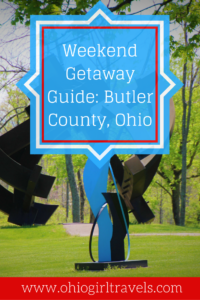 Butler County is the perfect weekend getaway from any major city in Ohio. It features delicious meals and wine in their charming downtown. See our guide for the best places to stay, eat, drink, and explore in Butler County. It was a lovely weekend getaway that we will never forget. You'll want to save this pin to your travel board. USA Travel.