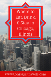 There are hundreds of places to eat, drink, and stay in Chicago, but why would you risk choosing a bad one when you can go to our favorites? Check out our guide to Chicago's food, drinks, and accommodation to take the guesswork out of your trip to Chicago! Don't forget to pin this to your travel board.
