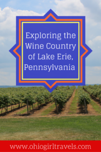 Lake Erie is a beautiful wine region in Pennsylvania. It has 24 wineries scattered in a 50-mile stretch. It's a beautiful drive and offers some delicious wine tasting, including ice wine. If you're looking for a romantic, relaxing day trip, Lake Erie is the spot for you. Be sure to see which two we recommend and don't forget to save this for later!