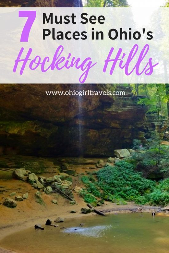 Hocking Hills State Park in Ohio is one of Ohio's most popular travel destinations. If you're looking for a beautiful day trip in Ohio, you have to check out Hocking Hills! The park is full of scenic spots that will leave you breathless. Come see what our favorite things to see in Hocking Hills State Park, Ohio are. Make sure you save this to your travel board so you can find it before your trip! #ohio #hockinghills #hockinghillsstatepark #ohiotravel