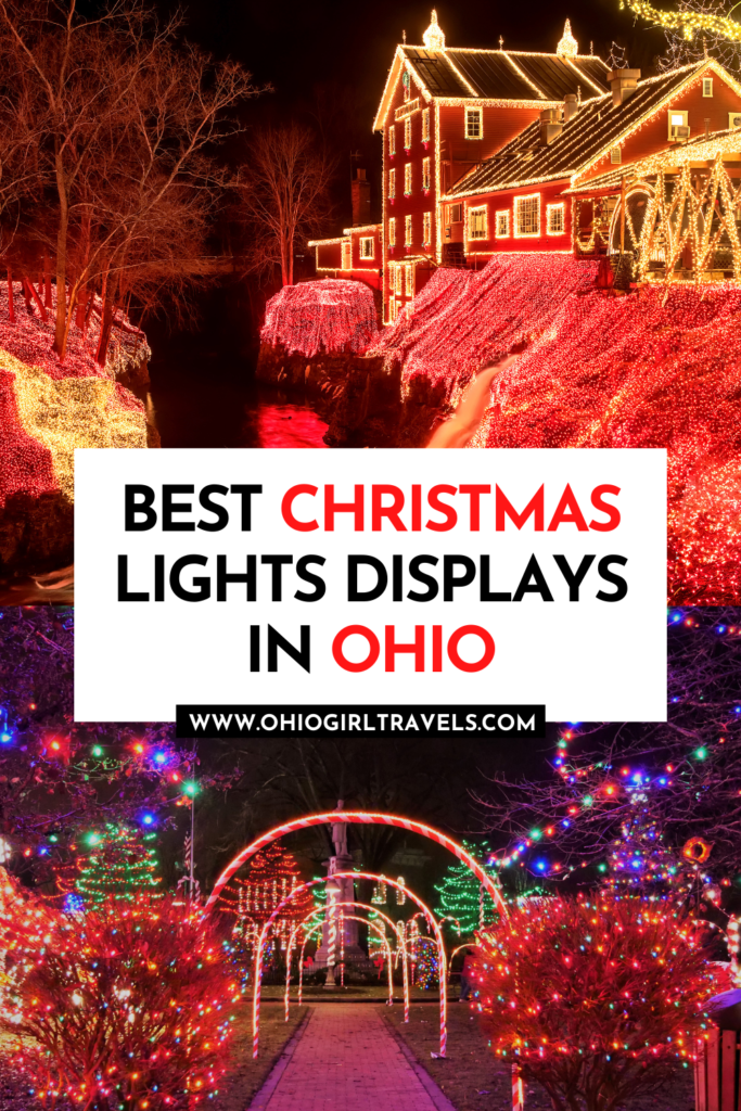 Best Christmas Lights Displays in Ohio
