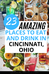 Ohio Travel | Places to Eat in Cincinnati Ohio | Places to Drink in Cincinnati Ohio | Best Bars in Cincinnati Ohio | Best restaurants in Cincinnati Ohio | Best Places to Eat In Cincinnati Ohio | Cincinnati Food Guide | Cincinnati Itinerary | Cincinnati Ohio Itinerary | Cincinnati Ohio Travel | Cincinnati Ohio Places to Go | Cincinnati Ohio Things to do | Cincinnati Ohio Travel Tips | Cincinnati Ohio Travel Guide | Cincinnati Travel Tips | Where to Eat in Cincinnati Ohio #OhioTravel #CincinnatiTravel #CincinnatiGuide #OhioGuide