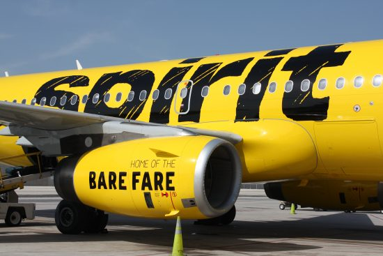 Spirit Airlines flying from Columbus, Ohio