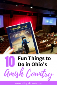 Ohio is well known for its beautiful Amish country. We will tell you 11 things to do in  Ohio's Amish country while you're visiting. This includes places to eat in Ohio's Amish country, things to see in Ohio's Amish country, and much more. Make sure you save this to your travel board so you can find it later. #ohio #amish