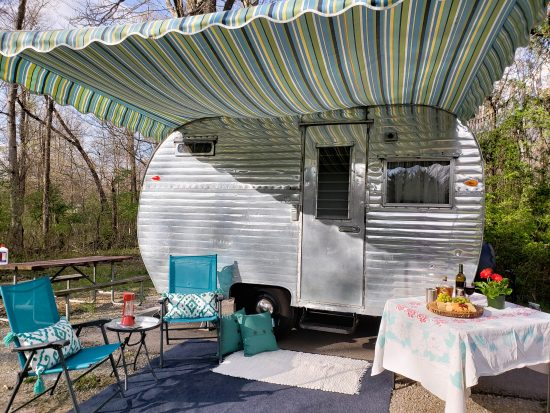 Vintage Camping with Route Fifty Campers