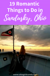 Are you looking for romantic things to do in Sandusky, Ohio? We have you covered. Come check out these unique things to do in Sandusky including where to stay in Sandusky, fun things to do in Sandusky, romantic restaurants in Sandusky, and more. Come check out our romantic getaway guide for Sandusky Ohio and save it to your travel board so you can find it later. #sandusky #ohio #romantic #romance