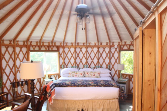 Inn & Spa at Cedar Falls Yurt