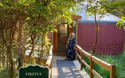 Yurts in Ohio: Glamping at The Inn & Spa at Cedar Falls