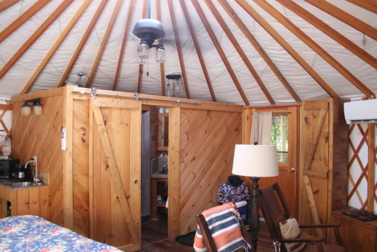 Yurts in Ohio