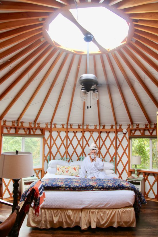 Yurt at the Inn & Spa at Cedar Falls