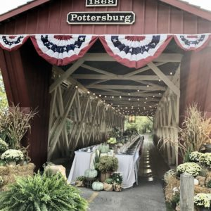 Dine On A Covered Bridge in Union County, Ohio