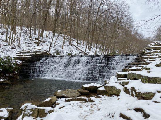 Jones Mill Dam at Laurel Hill State Park