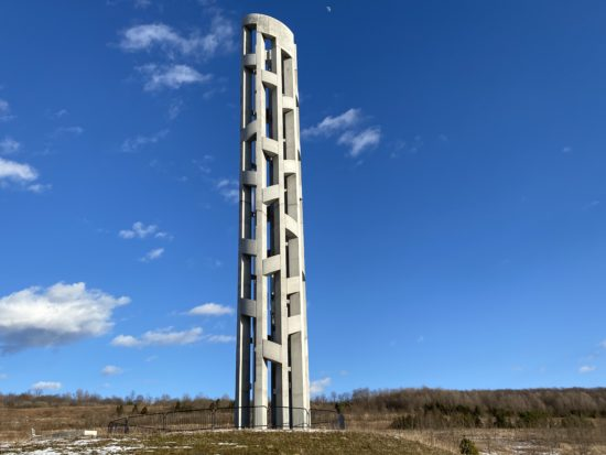 Tower of Voices at Flight 93 National Memorial