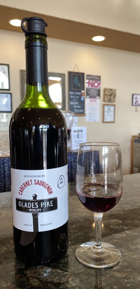Wine Tasting at Glades Pike Winery