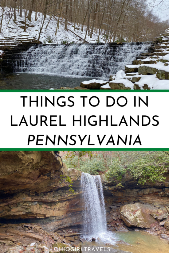 Laurel Highlands | Pennsylvania | Things To Do In Pennsylvania | PA | Pennsylvania Winter | Things To Do In PA | PA Places To Visit | Pennsylvania Travel | Laurel Highlands Pennsylvania Winter | Places To Visit In Pennsylvania | Pennsylvania Bucket List | Hiking In Pennsylvania | Pennsylvania Road Trip | Seven Springs Resort | Pennsylvania Photography | What To Do In Pennsylvania | Weekend Getaway Ideas Pennsylvania | Laurel Highlands Pennsylvania #VisitPA #LaurelHighlands #Pennsylvania #USA