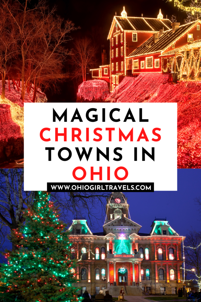 Best Christmas Towns in Ohio