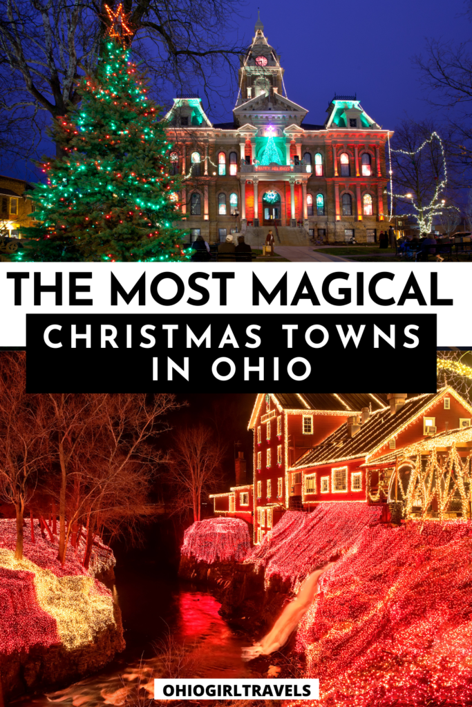 Christmas Towns in Ohio