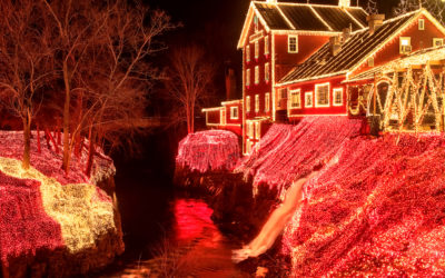 Magical Christmas Towns In Ohio